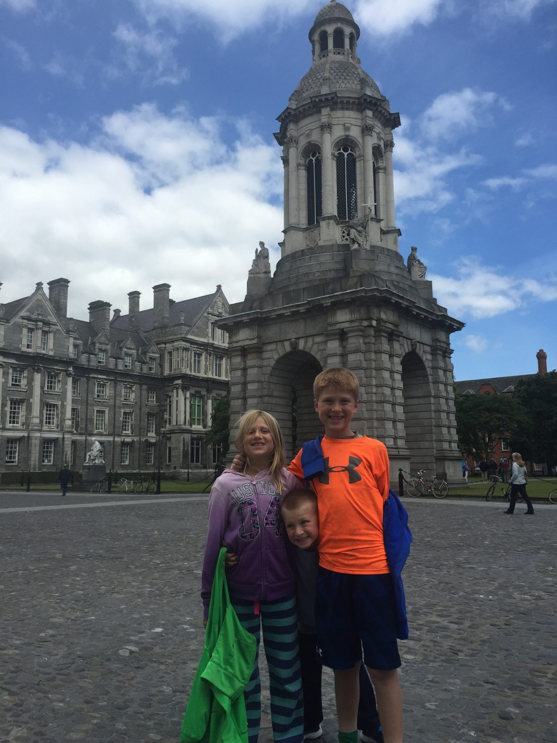 Our first day in Dublin - exploring Trinity College
