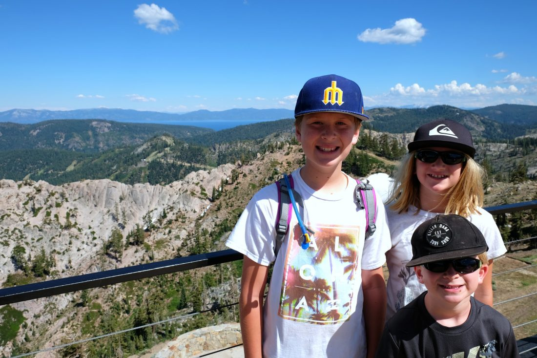 Family Friendly Lake Tahoe In Summer Marquez Five Adventures