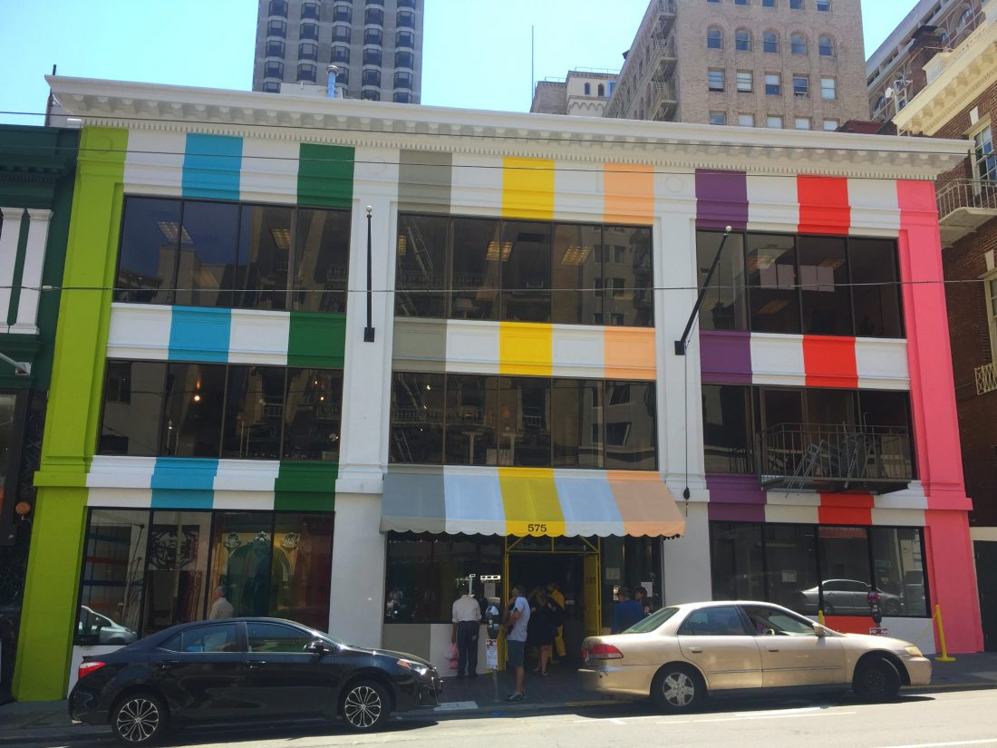 Color Factory on Sutter Street