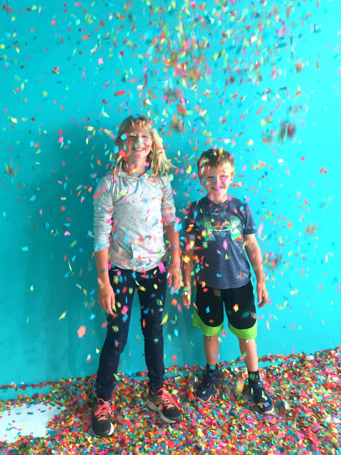 The Confetti Room was one of our favorites