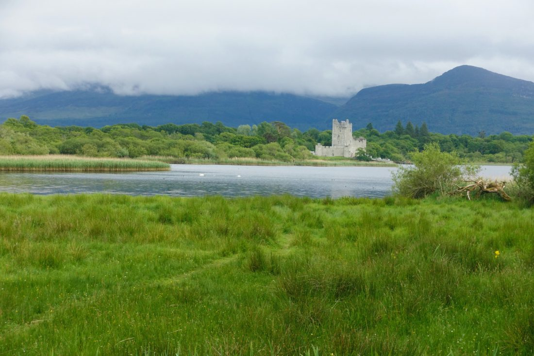 Ross Castle on Lough Leane in Killarney