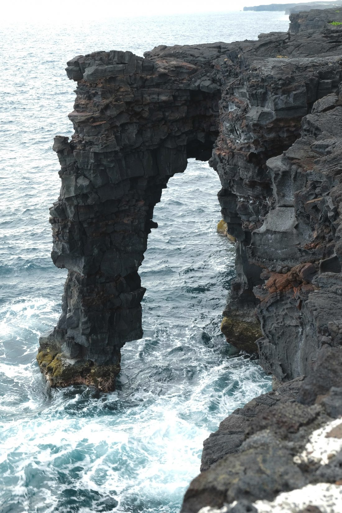 Holei Sea Arch in Volcanoes National Park