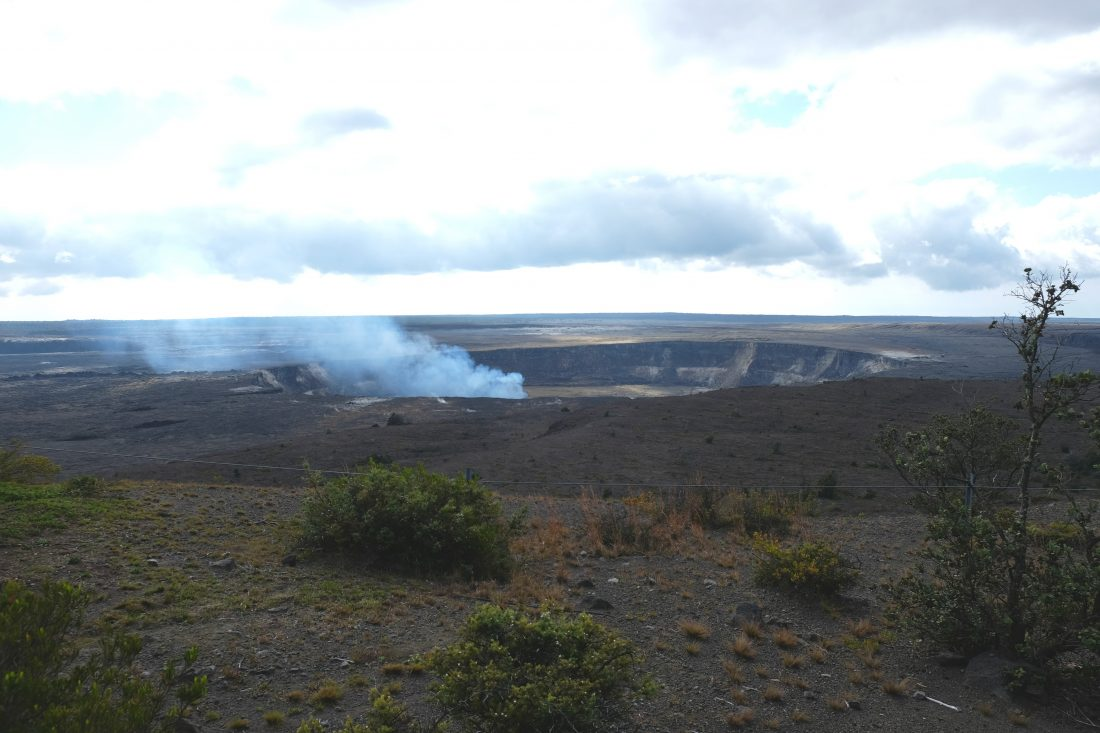 Kilaeua Crater - Volcanoes National Park, Hawaii