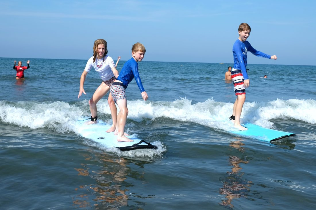 Surfing Trifecta!