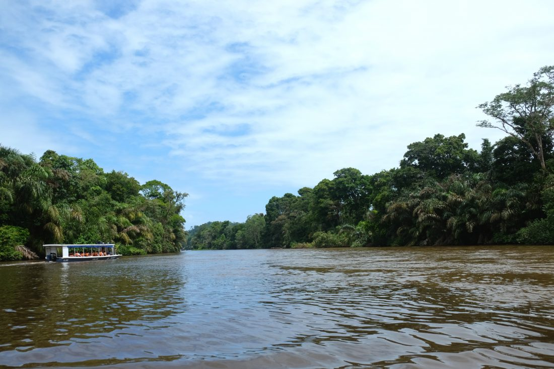 River boat to Tortuguero. Costa Rica
