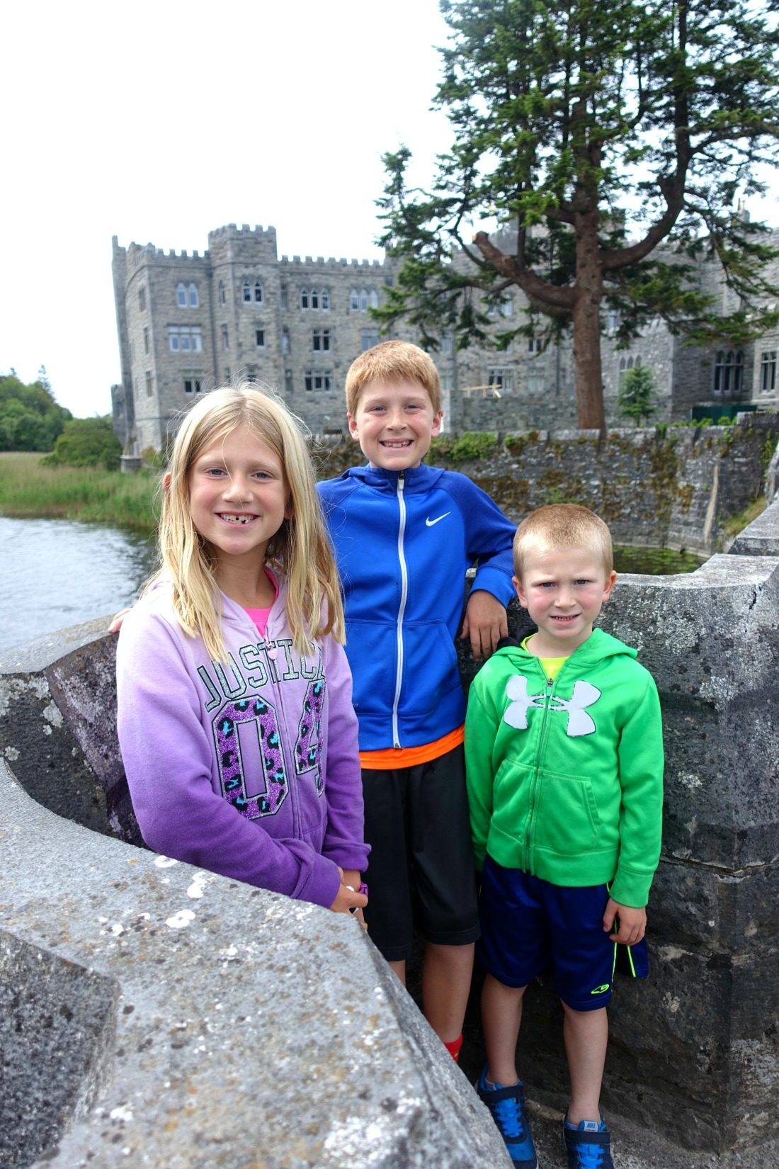 Enjoying their stay in the castle. County Mayo, Cong, Ireland