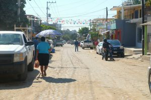 The local side of Bucieras, Mexico