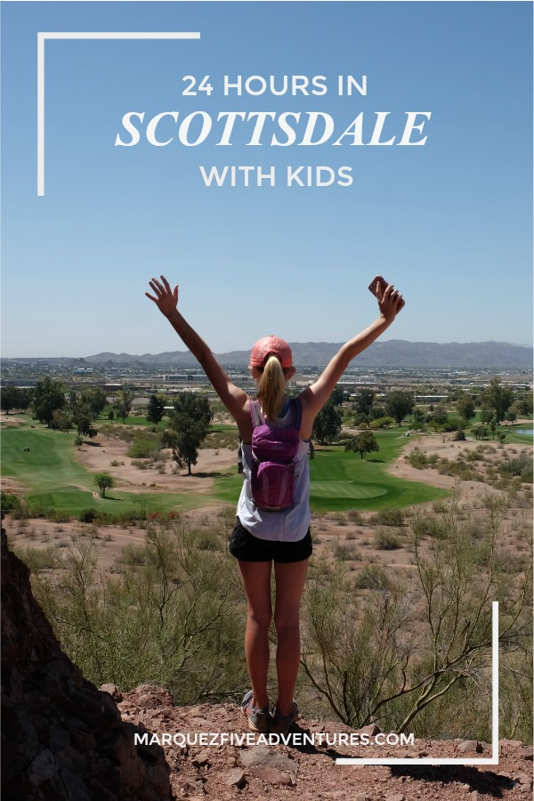 Scottsdale is filled with luxury resorts and is an outdoor playground! You can still plan to see a lot even if you only have 24 hours! We hiked, rafted and ate our way through town!