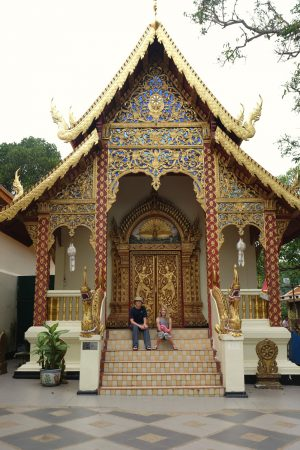 At Doi Suthep. Chiang Mai, Thailand
