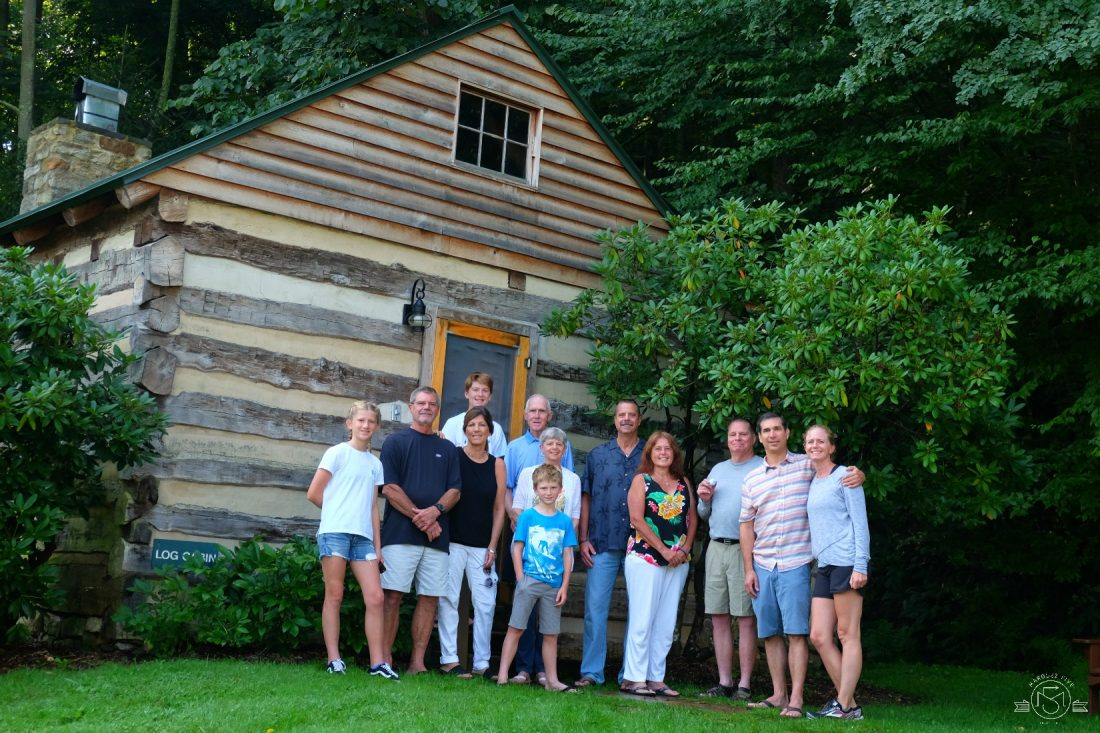 Annual Family photo at Capon