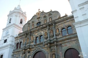 The Metropolitan Cathedral is located on Plaza de la Catedral (also known as Plaza de la Independencia) which is the heart of Casco Viejo