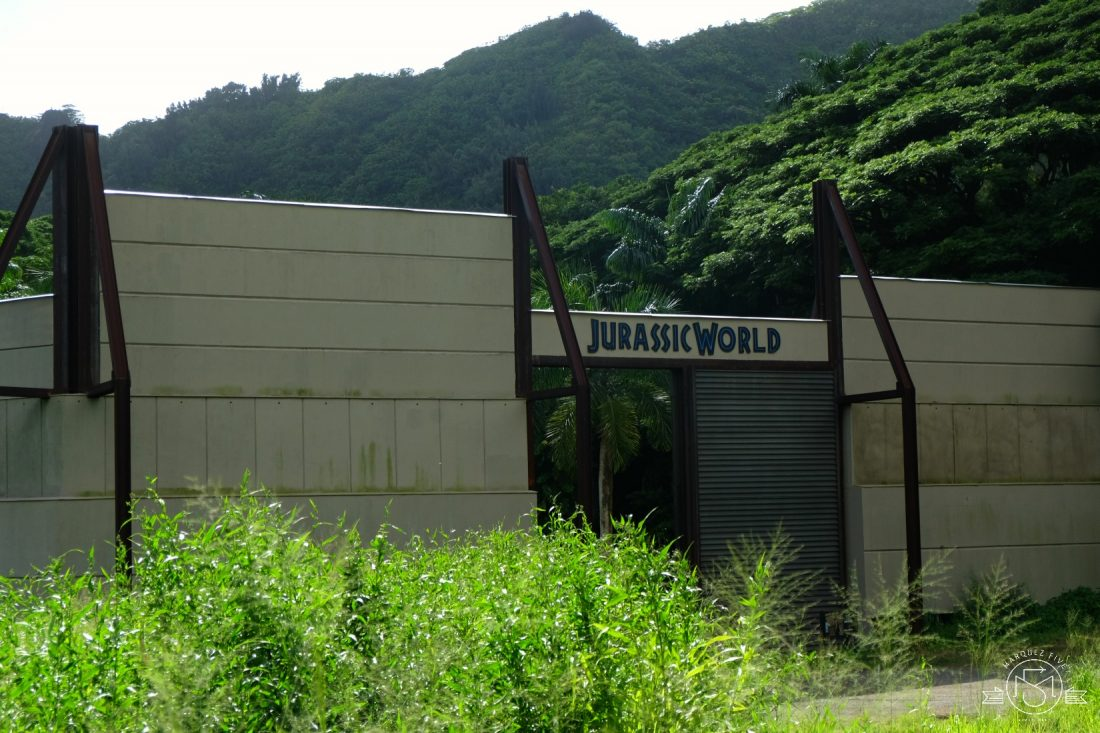 The Indominous Rex enclosure from Jurassic World!