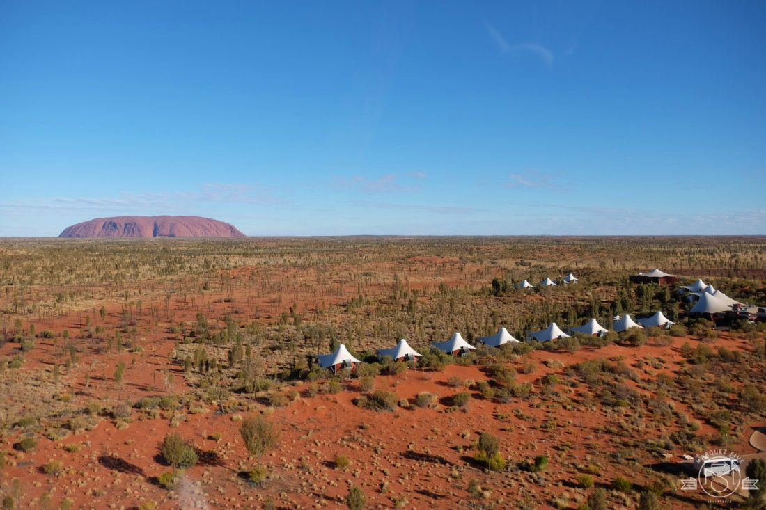 Longitude 131 where each tent has an amazing view of Uluru. Australia