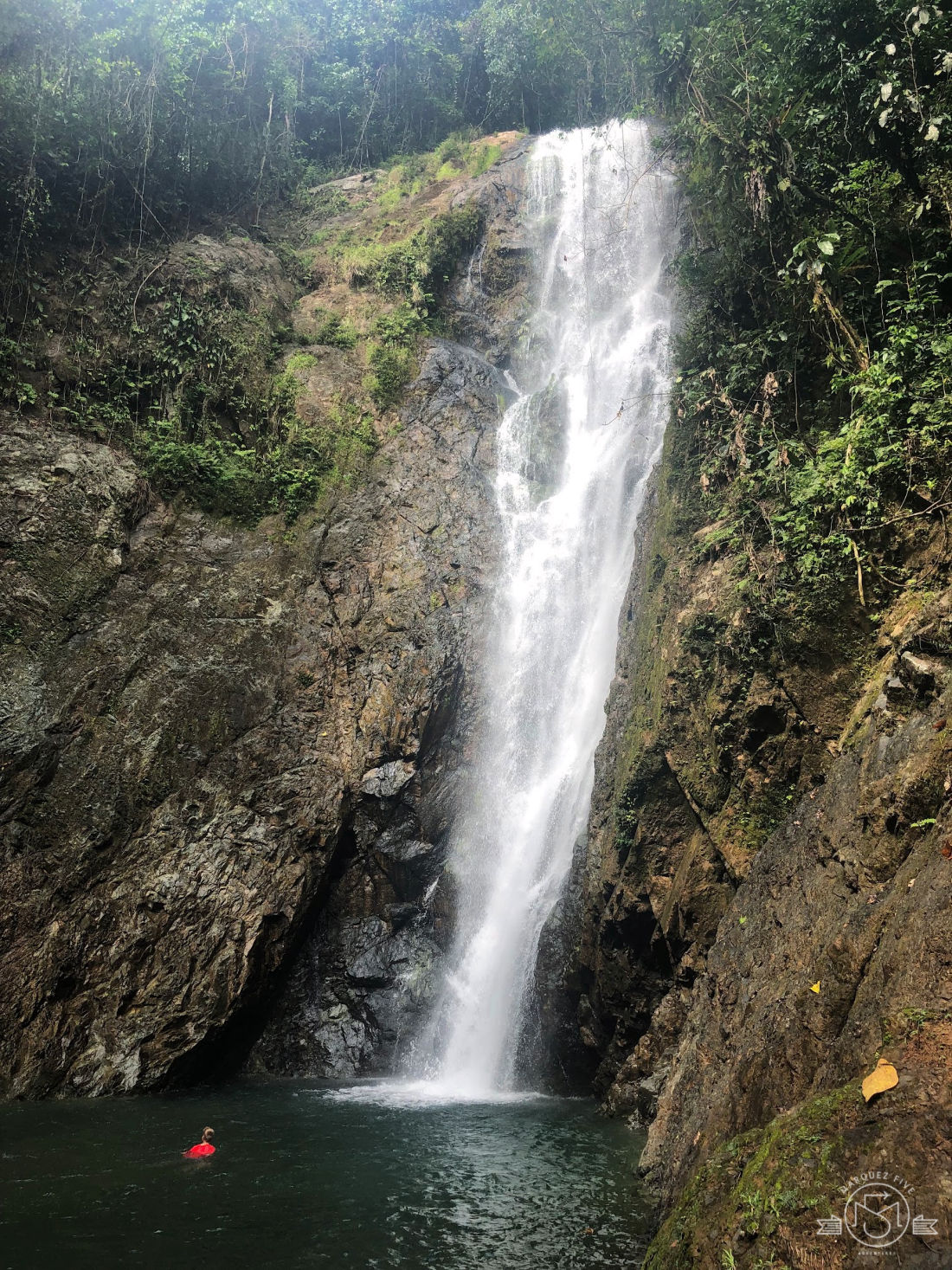 We had so much fun swimming near this waterfall and jumping from the rocks!