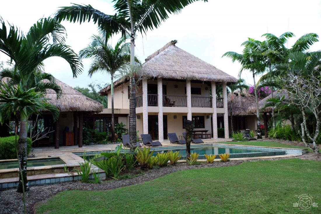 Our villa at Nanuku