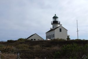 Old Point Loma Lighthouse. Cabrillo National Monument. San Diego, California
