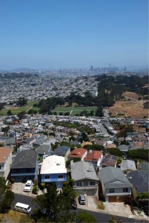 Views to Marin on a clear day! San Bruno Mountain California