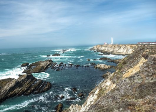 Point Arena Lighthouse. Point Arena, California. Mendocino County