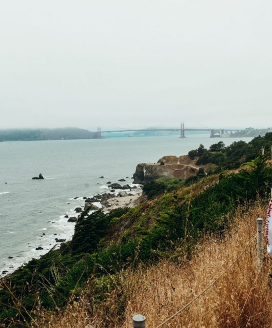Land's End Trail in San Francisco California