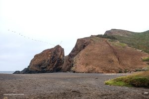Can you spot the bunker at the top of the hill? Tennessee Valley Trail. Marin California