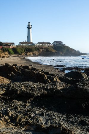 Pigeon Point Lighthouse. Pescadero, California. San Mateo County