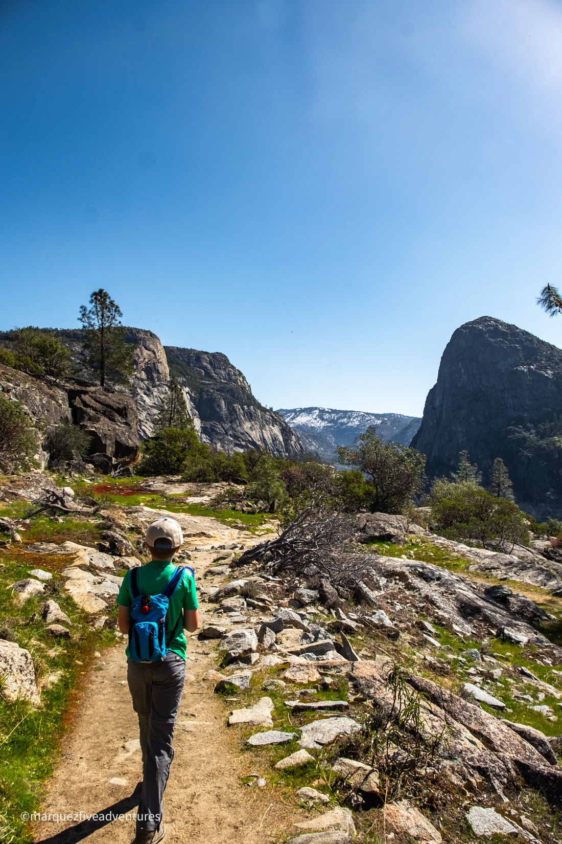 No bad views on the hike to Wapama Falls! Yosemite National Park. Hetch Hetchy.