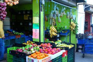 A fruit market in Tortuguero. Costa Rica