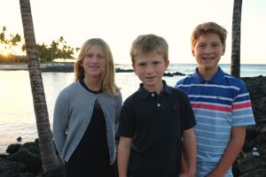 Thanksgiving dinner at the Fairmont Orchid. Big Island Hawaii
