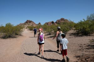 Hiking in Papago Park, Scottsdale