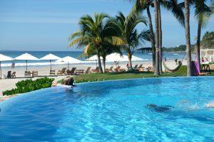 Beachfront pool at Los Veneros. Punta Mita, Mexico