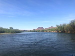 Floating down the Salt River. Scottsdale, Arizona