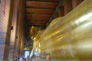 Reclining Buddha - Wat Pho. Bangkok, Thailand