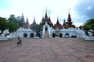 The entrance to the Dhara Dhevi. Chaing Mai, Thailand