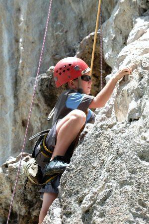 Rock climbing in Krabi Thailand