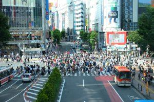 Shibuya Crossing. Tokyo Japan