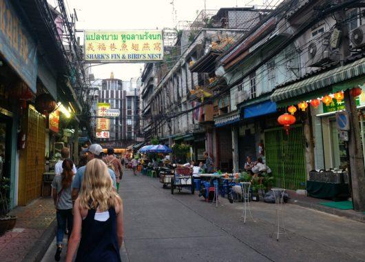 Colorful streets of Bangkok