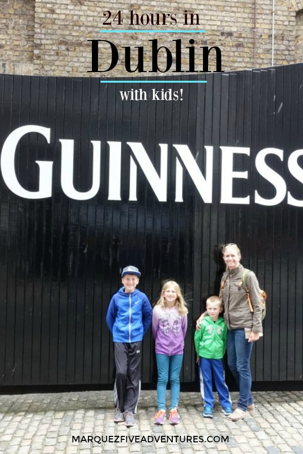 Only have a day in Dublin? Check out these kid-approved (and fun for the whole family) things to do! Yes, kids are welcome on the Guinness Storehouse tour and our kids loved it!  Dublin | Ireland | Guinness Storehouse | Fitzwilliam Hotel | Trinity College | St. Stephen's Green | Dublin Zoo