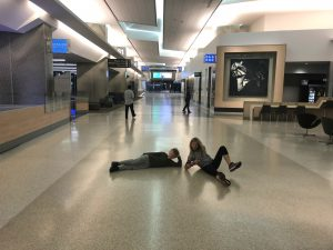 When you have the airport basically all to yourself