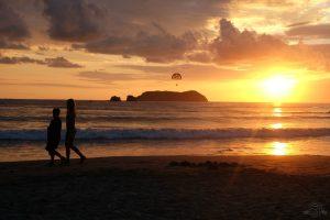 Sunset at Espadilla Beach
