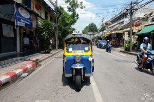 Tuk tuk - the best way to get around Bangkok!