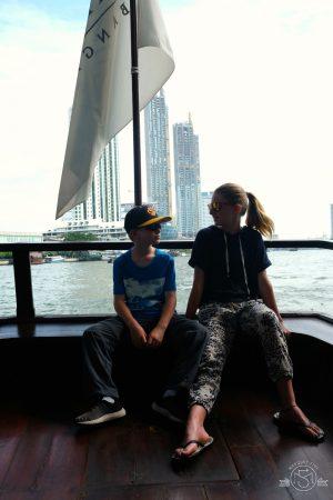 Crossing the Chao Phraya River