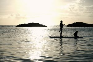 Stand Up Paddleboarding in Ko'Olina Oahu