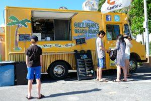 Food truck lunch in Waikiki
