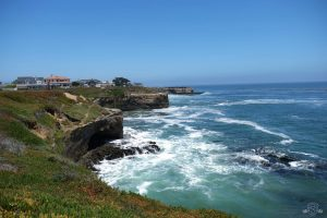 I wouldn't mind living in one of these houses! West Cliff Drive. Santa Cruz California