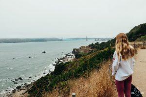 Land's End Trail in San Francisco California