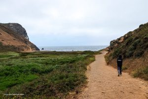 Tennessee Valley Trail. Marin California