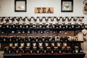 Basically any tea you can imagine! Spice & Tea Exchange. Charleston, South Carolina