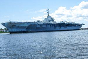 USS Yorktown Air Craft Carrier at Patriot's Point. Mt. Pleasant Charleston South Carolina