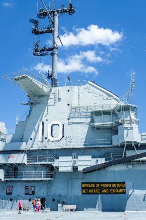 These vessels are massive! USS Yorktown. Patriots Point. Mt. Pleasant. Charleston, South Carolina
