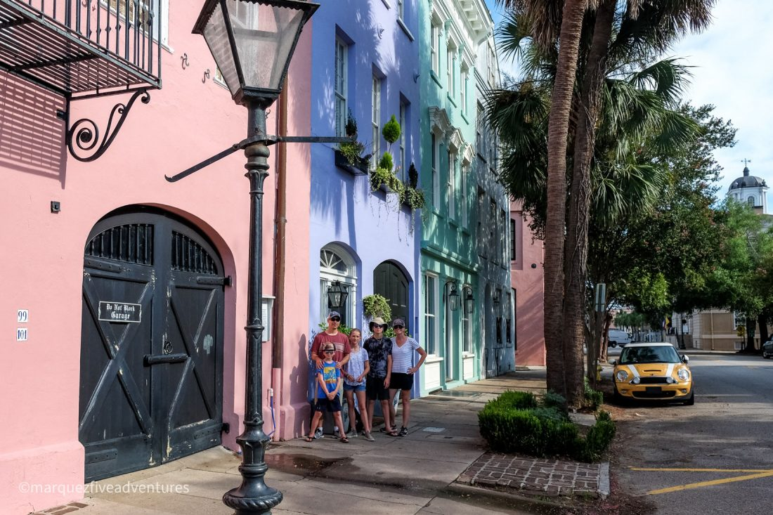 Rainbow Row! Charleston, South Carolina